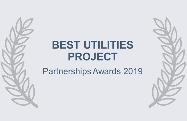 Best Utilities Project Partnership Awards 2019