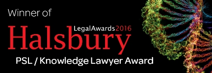 Halsbury Legal Awards logo