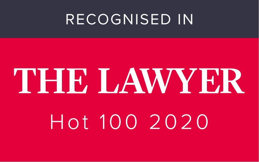 The Lawyer Hot 100 2020 Logo