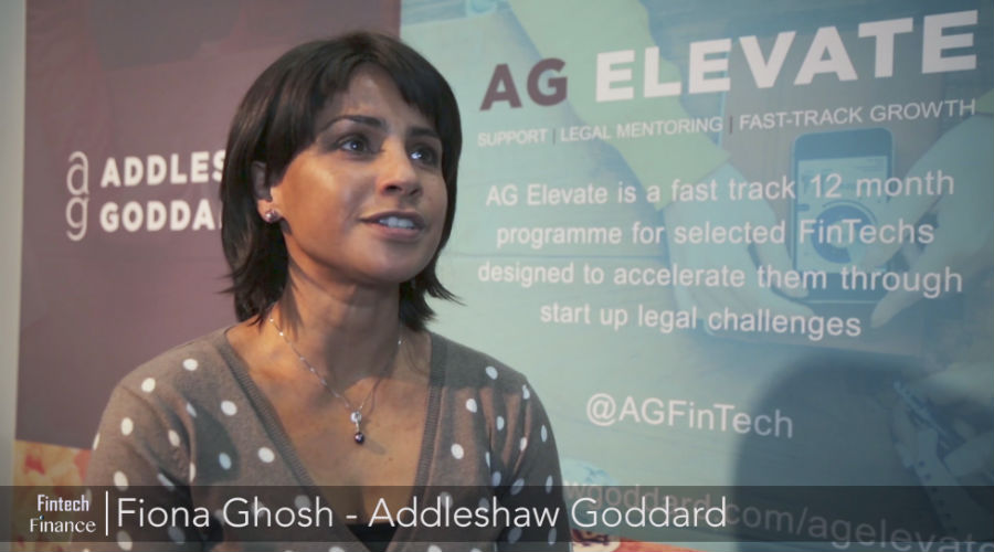 Fiona Ghosh talks to Fintech Finance about AG Elevate