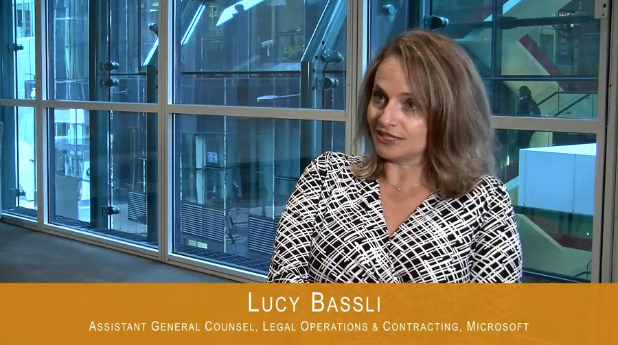 Video: Two Minutes with Microsoft's Lucy Bassli