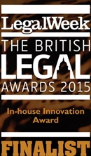 British Legal Awards 2015 Logo