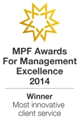 MPF Awards for Management Excellence 2014 logo
