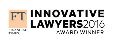 FT Innovative Lawyers Award Winner Logo 2016