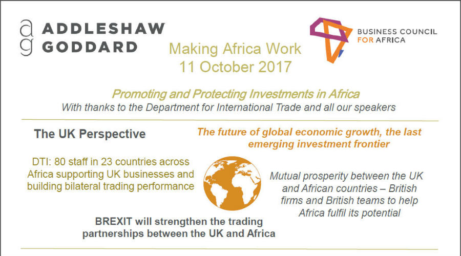 INFOGRAPHIC: Making Africa Work