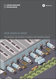 Logistics report cover image