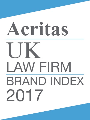 Acritas UK Law Firm Brand Index 2017