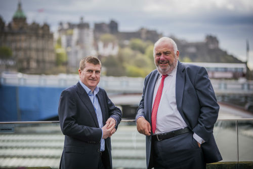 John Joyce, Managing Partner and Malcolm McPherson, Senior Partner, Scotland