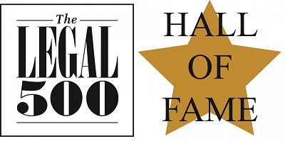 The Legal 500 Hall of Fame
