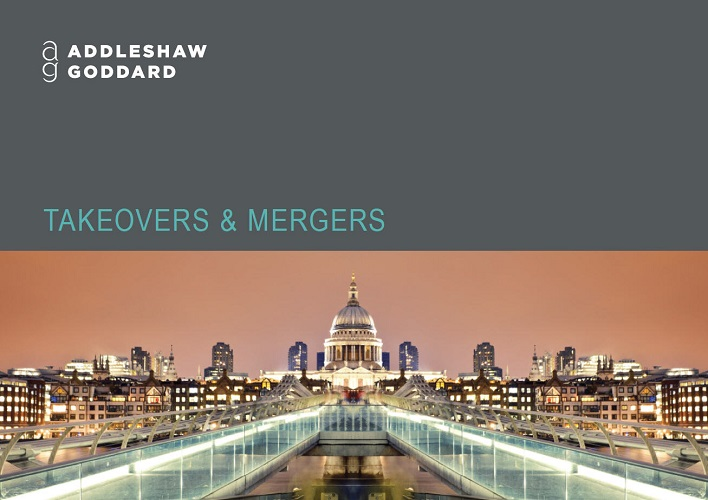 Takeovers & mergers credentials