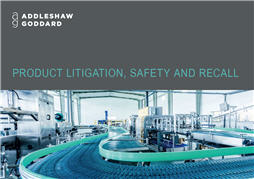 Product Litigation, Safety and Recall brochure thumbnail